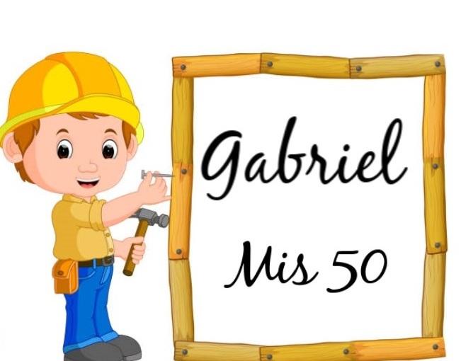 LOS 50 AÑOS DE GABRIEL-GLEW
